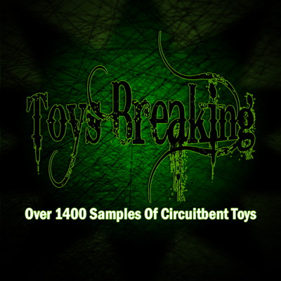 Over 1400 samples of circuitbent toys in CD quality. Standard 16 bit, 44.1 kHz WAV files